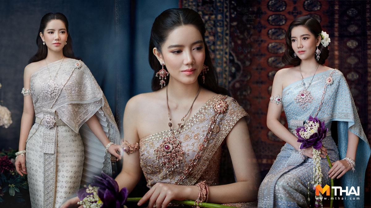 ชุดแต่งงานไทย ชุดไทย ชุดไทยจักรพรรดิ ชุดไทยจักรี ริชชี่-อรเณศ ดีคาบาเลส วนัช กูตูร์ ห้องเสื้อ วนัช กูตูร์