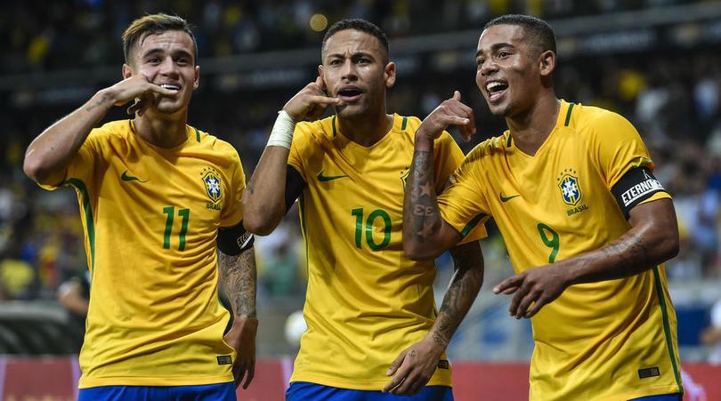 ทีมชาติบราซิล ทีมชาติไทย