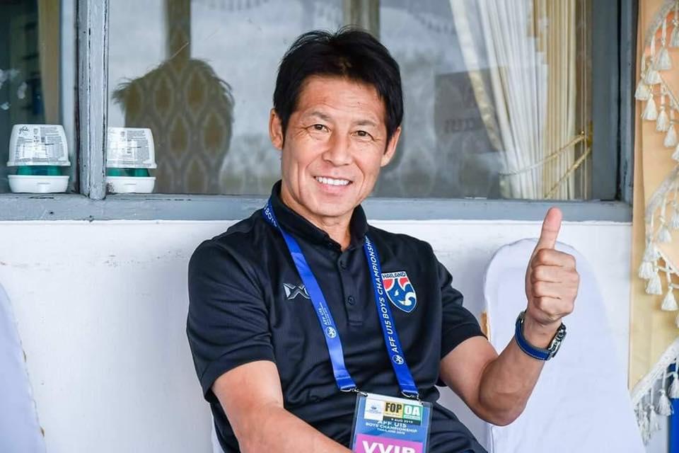 ทีมชาติบราซิล ทีมชาติไทย สมยศ พุ่มพันธุ์ม่วง อากิระ นิชิโนะ