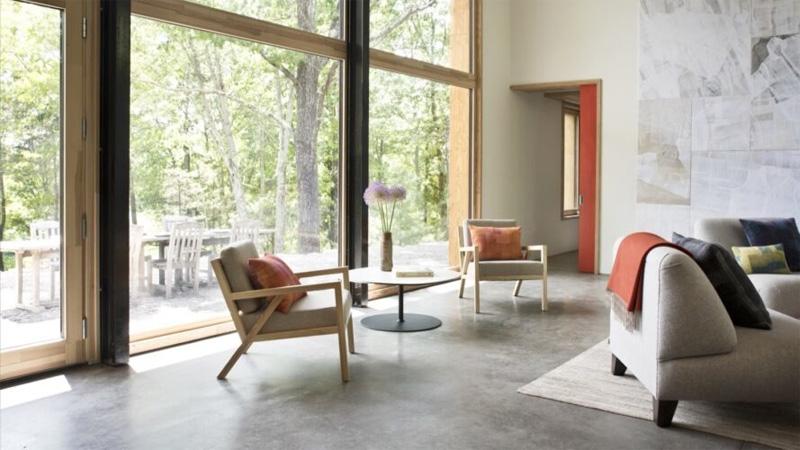 บ้านสไตล์คอนเทมโพรารี่ พลังงานแสงอาทิตย์ วัสดุทดแทน ออกแบบบ้าน โซลาร์เซลล์