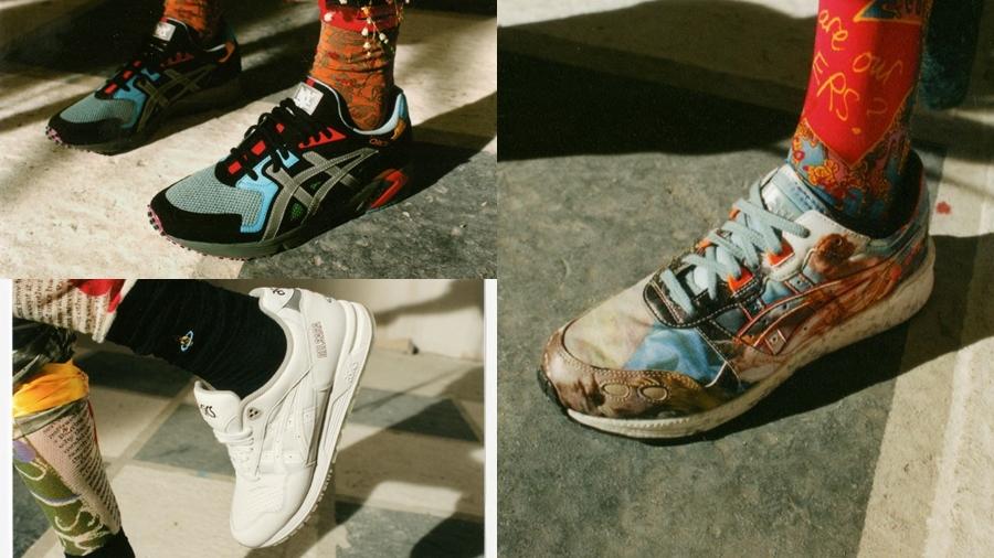 ASICS ASICSTIGER Vivienne Westwood รองเท้า สนีกเกอร์ แฟชั่นรองเท้า