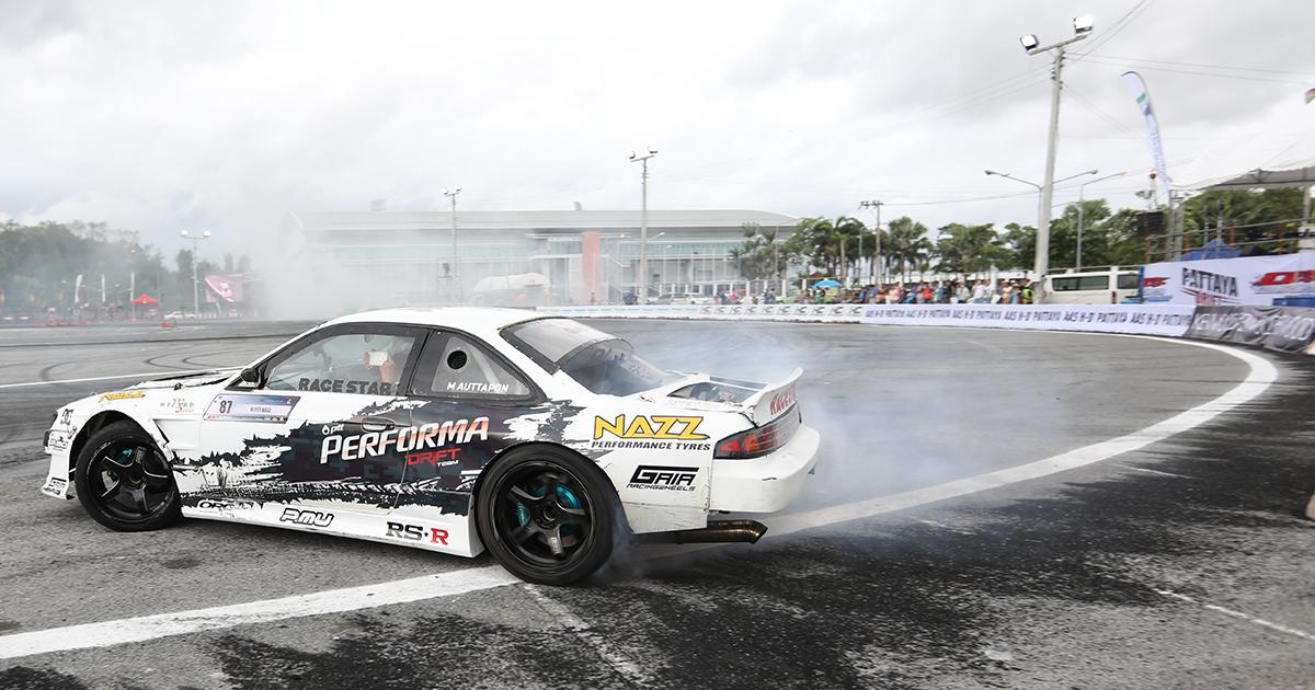 Drift Competition 2019 PTT Performa drift team พีท ทองเจือ เอ็ม อรรถพล