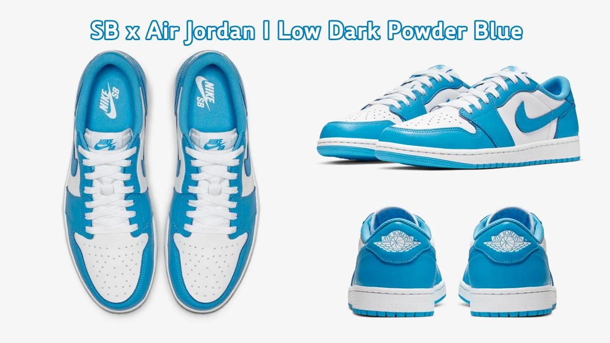Air Jordan Air Jordan 1 nike SB SB x Air Jordan I Sneaker รองเท้า รองเท้าสเก็ต สนีกเกอร์ แฟชั่นรองเท้า ไนกี้