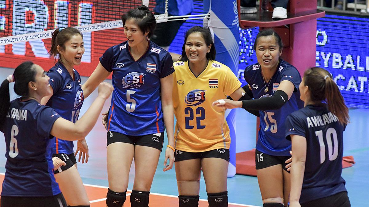 ทีมชาติเปอร์โตริโก ทีมชาติไทย วอลเลย์บอลหญิง โอลิมปิกเกมส์ 2020