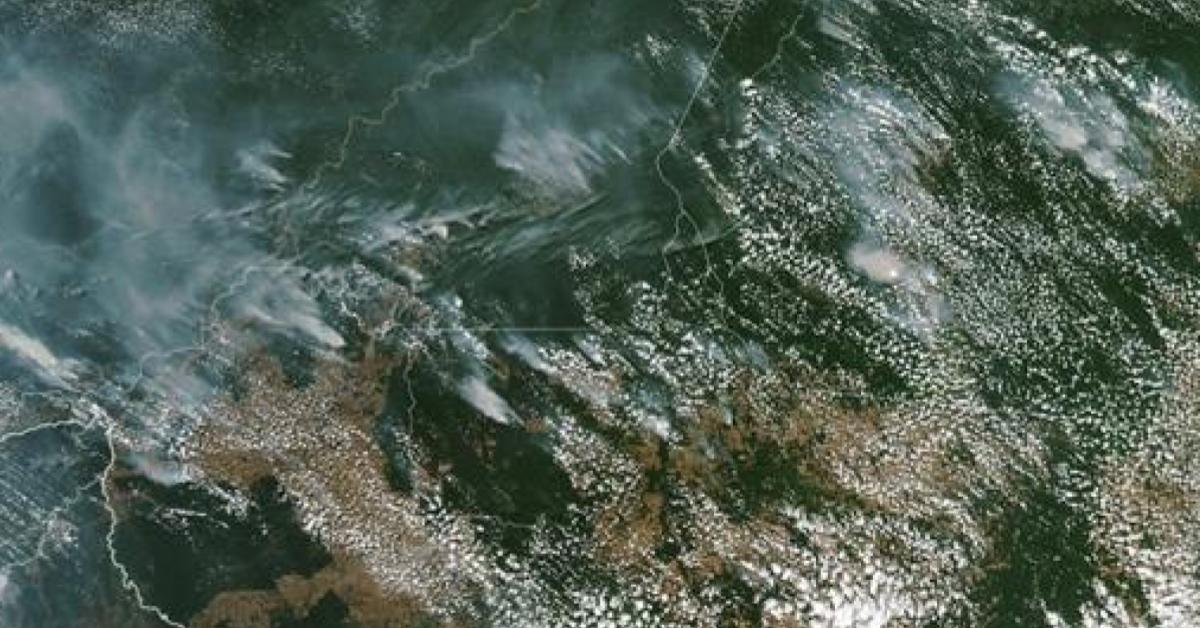 บราซิล ป่าแอมะซอน เซาเปาโล ไฟป่า