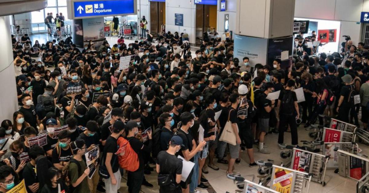 ข่าวสดวันนี้ สนามบินฮ่องกง