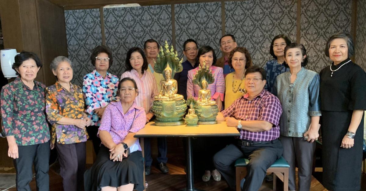 ข่าวสดวันนี้ พระพุทธรูปนาคปรก ศิษย์เก่าสวนกุหลาบ