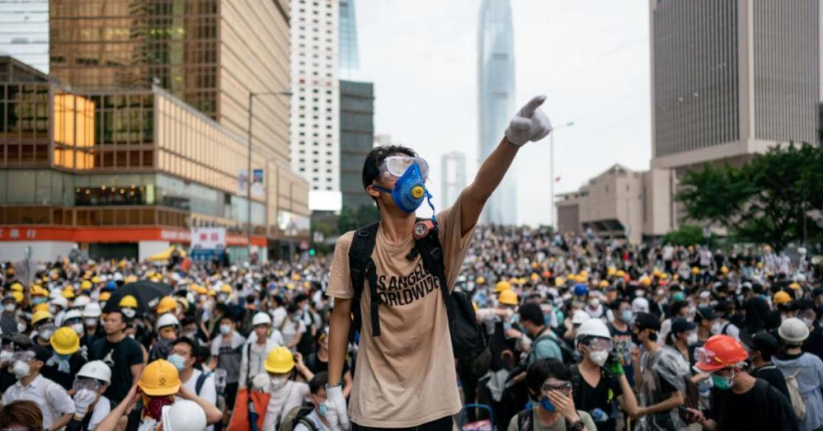ข่าวสดวันนี้ ประท้วงฮ่องกง