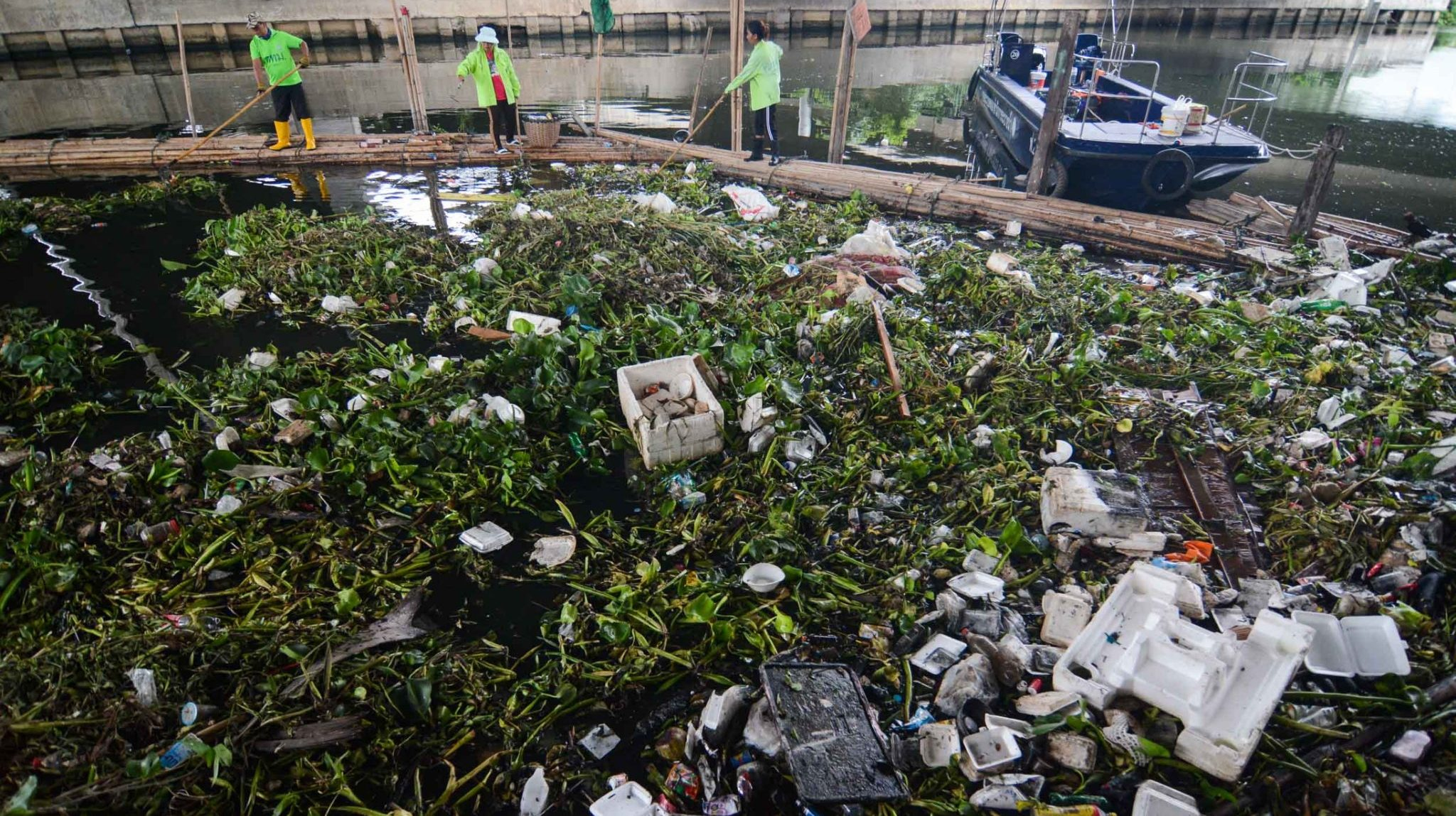 ขยะ คลองลาดพร้าว ทิ้งขยะ ทิ้งขยะลงคลอง