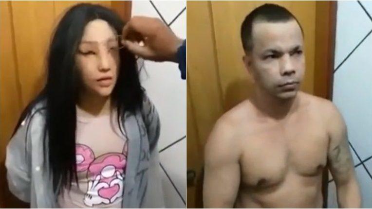 นักโทษปลอมตัวเป็นผู้หญิง ปลอมตัว แหกคุก