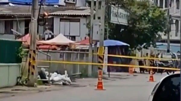 พบระเบิด ระเบิด ระเบิดบ้านโป่ง