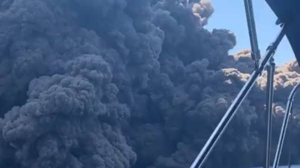 ข่าวสดวันนี้ ข่าวอิตาลี ภูเขาไฟระเบิด ภูเขาไฟสตรอมโบลี