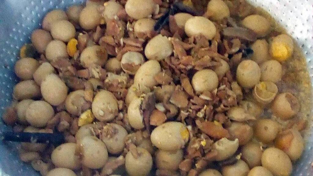 ข่าวจังหวัดปราจันบุรี ข่าวสดวันนี้ ข่าวอาหารกลางวัน ไข่พะโล้บูด
