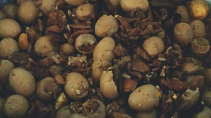 โครงการอาหารกลางวัน ไข่พะโล้ ไข่พะโล้บูด
