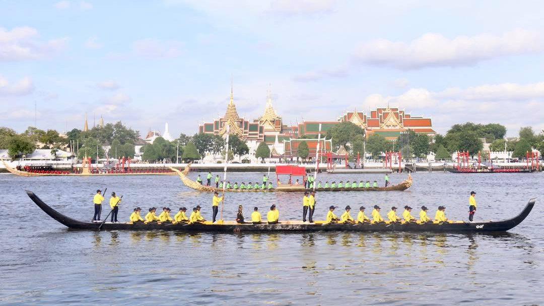 ขบวนพยุหยาตราทางชลมารค ขบวนเรือพระราชพิธี พระราชพิธีบรมราชาภิเษก ในหลวงรัชกาลที่ 10