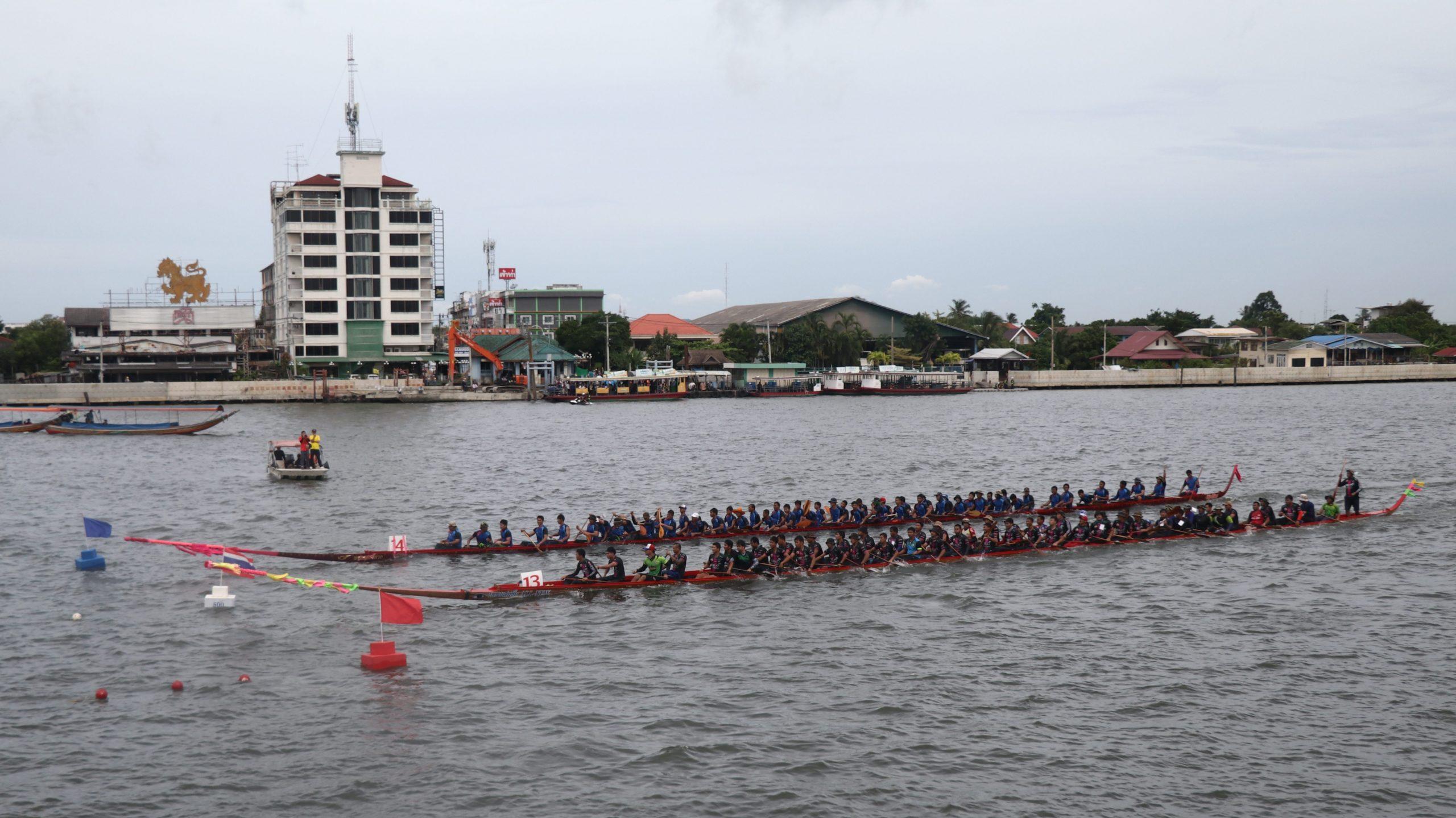 เทศบาลนครนนทบุรี แข่งเรือ