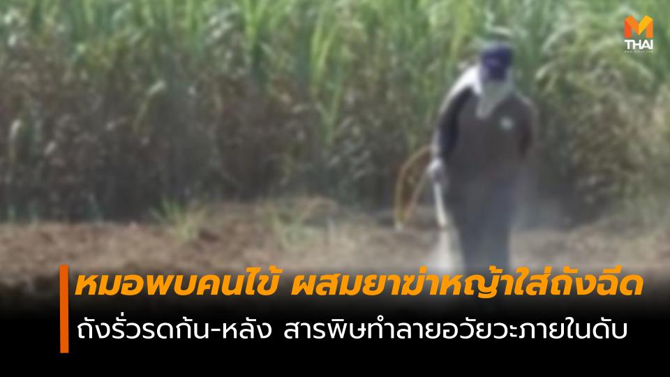พาราควอต ยาฆ่าหญ้า พาราควอต