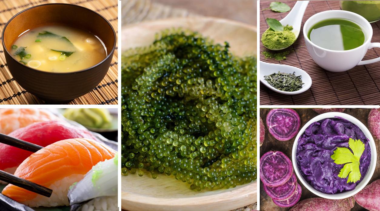 อายุยืน อาหารญี่ปุ่น อาหารอายุยืน