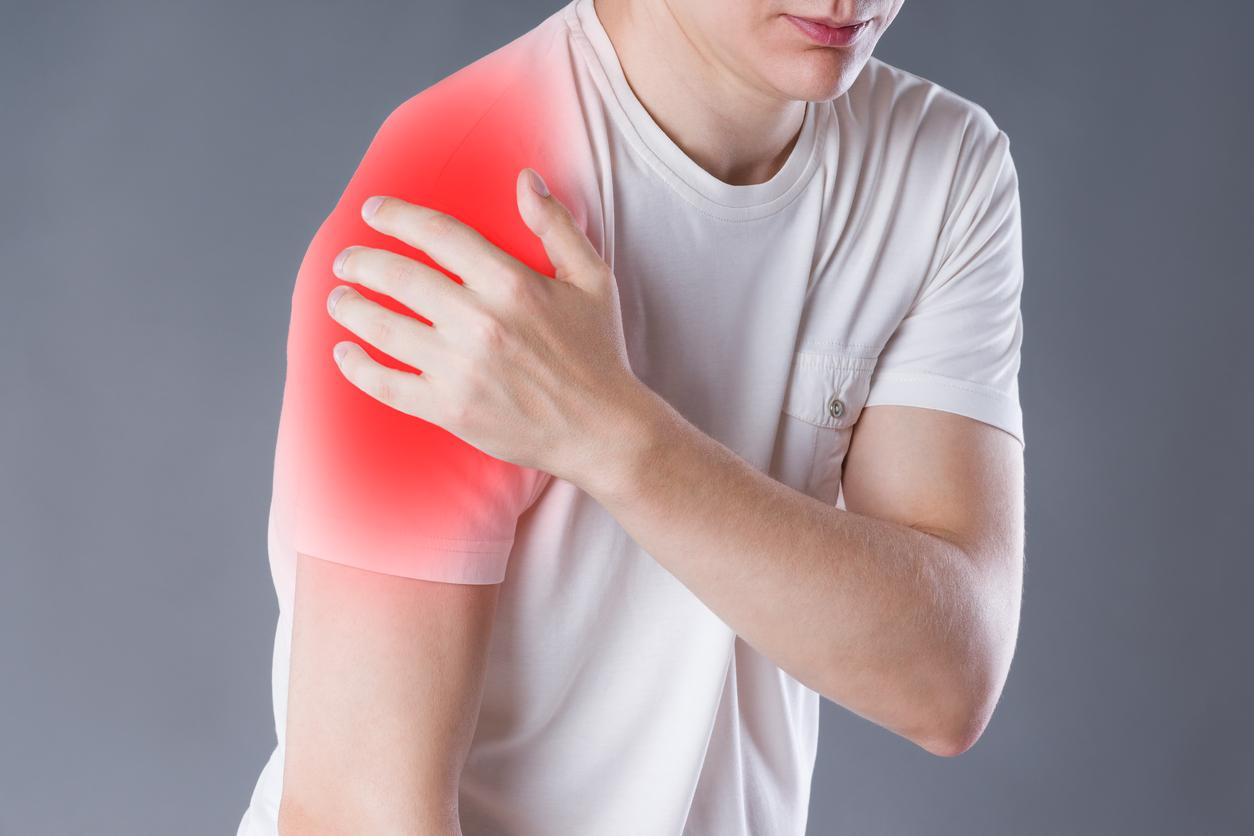กล้ามเนื้อข้อไหล่เสื่อม กล้ามเนื้อไหล่ กล้ามเนื้อไหล่อักเสบ ข้อไหล่ ข้อไหล่เสื่อม