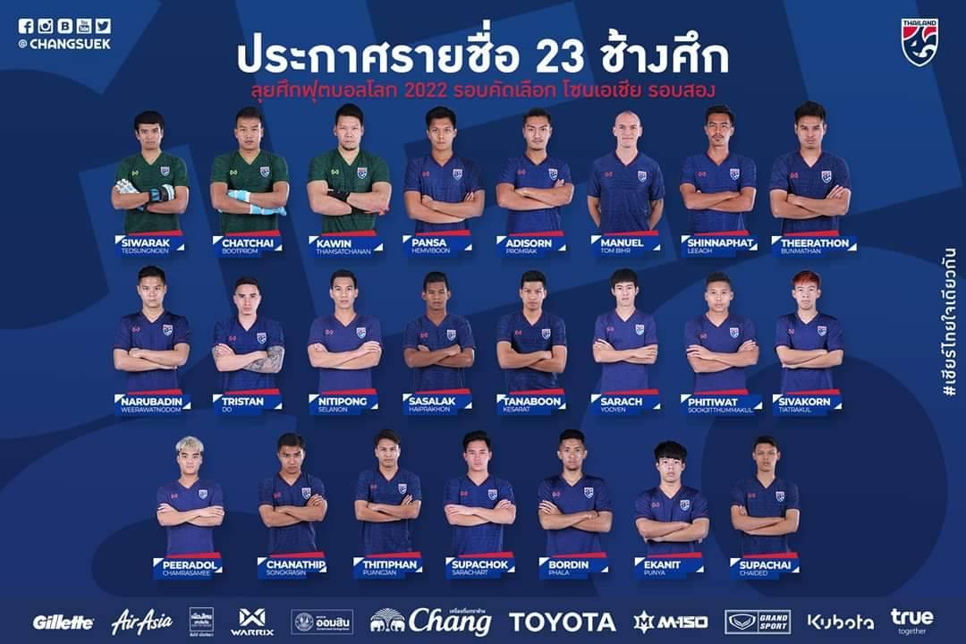 #ทีมชาติไทย #คัดบอลโลก