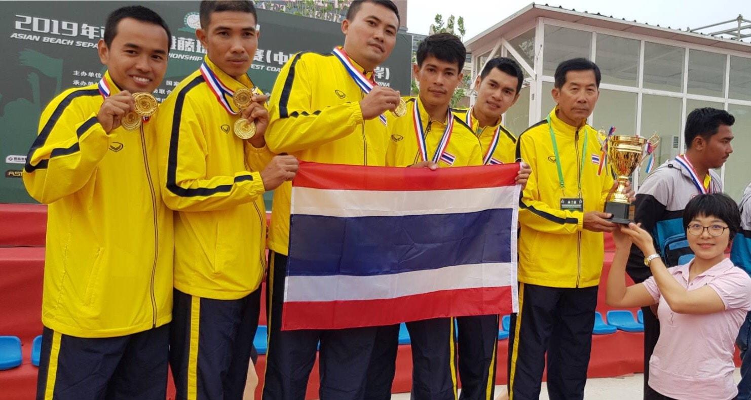 ตะกร้อ ตะกร้อทีมชาติญี่ปุ่น ตะกร้อทีมชาติไทย