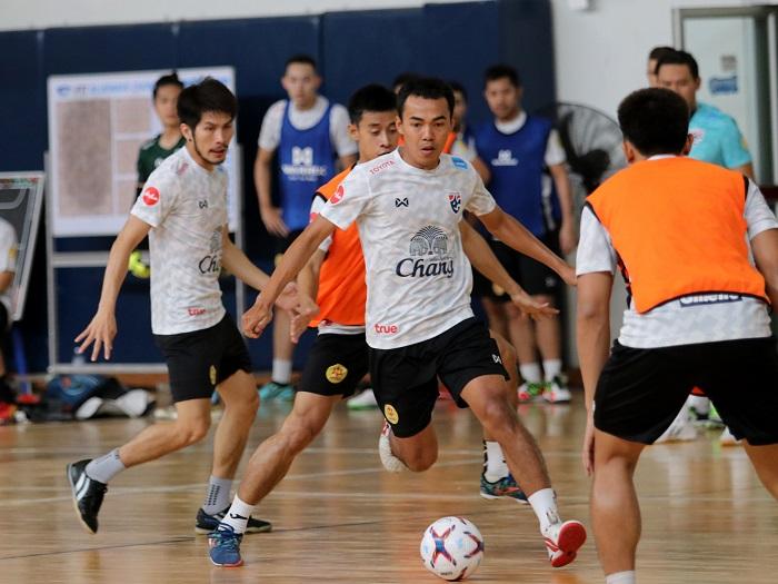 ญี่ปุ่น ทีมชาติไทย ฟุตซอล อุ่นเครื่อง