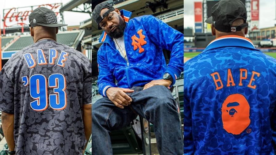 A BATHING APE Bape fashion Los Angeles Angels Los Angeles Dodgers Major League Baseball Mitchell & Ness MLB National League New York Mets New York Yankees streetwear สตรีทแวร์ แฟชั่น