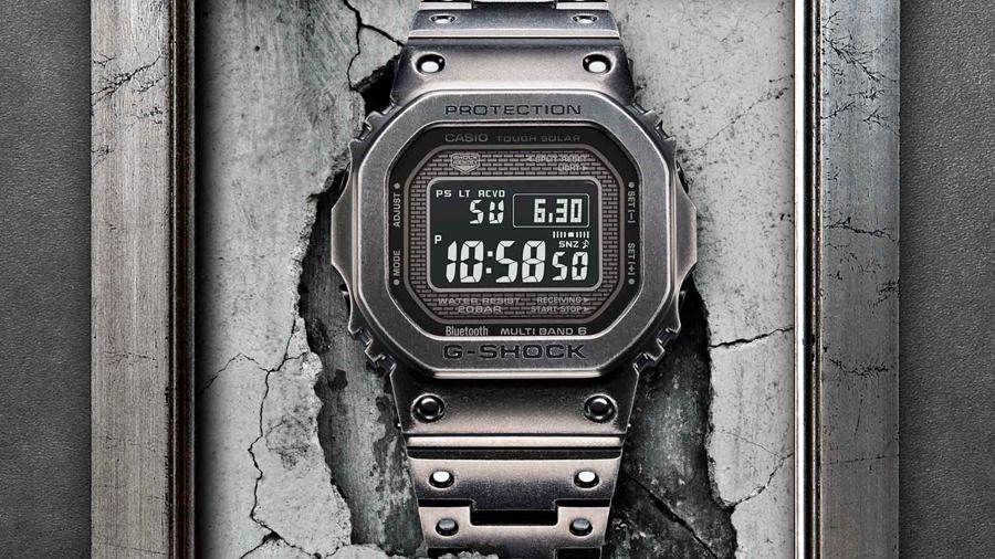 Full Metal The ORIGINS g-shock GMW B5000V watch นาฬิกา