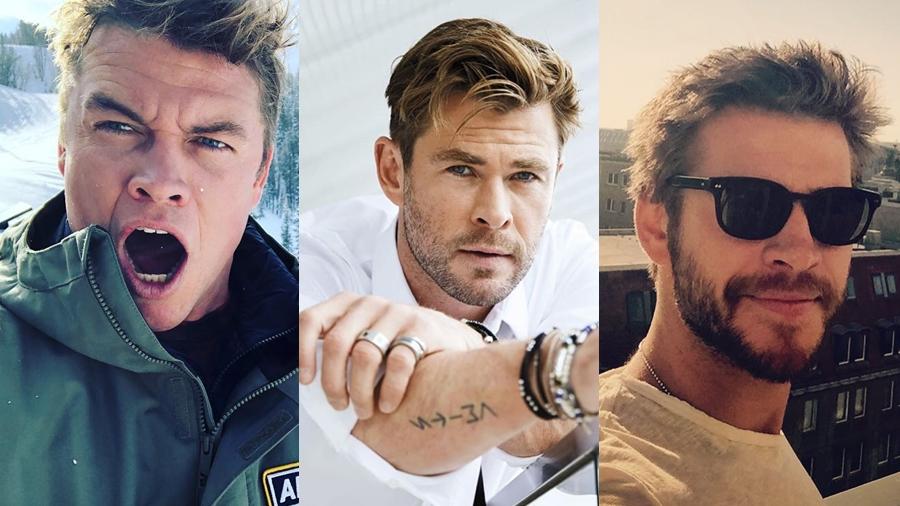 Chris Hemsworth Hemsworth Liam Hemsworth Luke Hemsworth ดารา นักแสดง หล่อ เท่