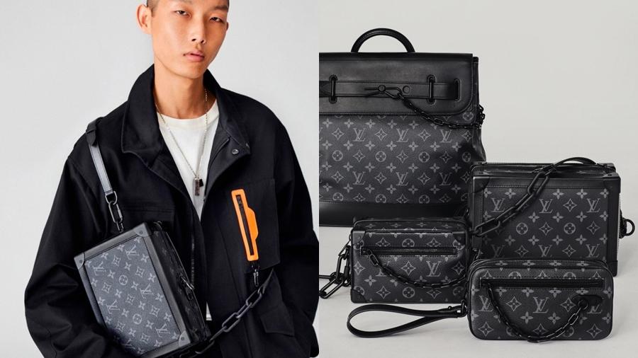 Artistic Director fashion Louis Vuitton Mini Soft Trunk Monogram New Classics Pochetta Volga Soft Trunk Steamer PM streetwear Virgil Abloh สตรีทแวร์ แฟชั่น โมโนแกรม