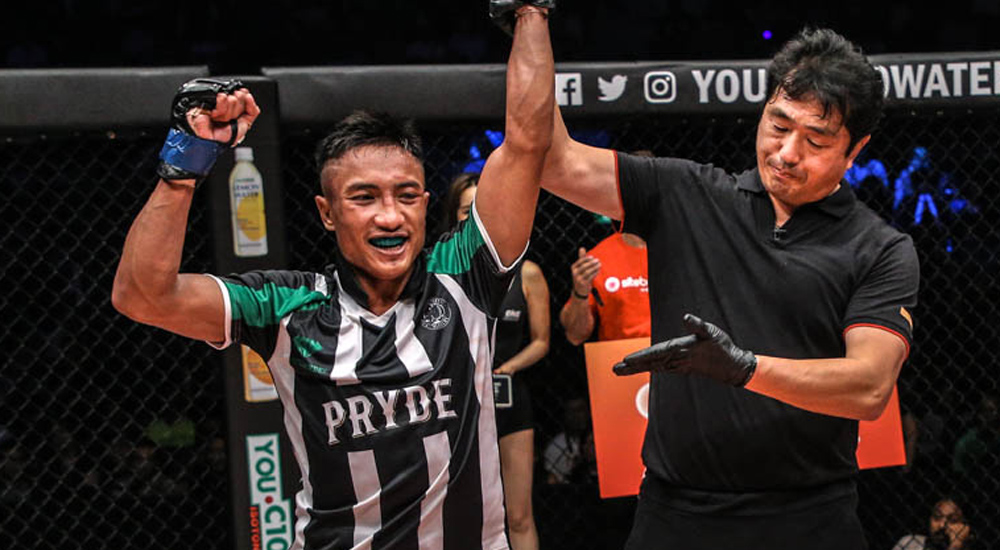 ONE Championship ONE: IMMORTAL TRIUMPH มงคลเพชร เพชรยินดีอะคาเดมี่