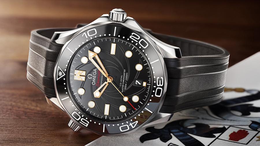 fashion George Lazenby JAMES BOND omega On Her Majesty's Secret Service Seamaster Diver 300M watch นาฬฺกา สายลับ เจมส์ บอนด์ แฟชั่น