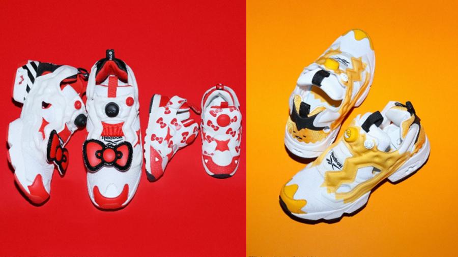 BAIT fashion Gudetama Hello Kitty Instapump Fury reebok Sanrio Sneaker คิตตี้ รองเท้า สนีกเกอร์ แฟชั่น ไข่ขี้เกียจ
