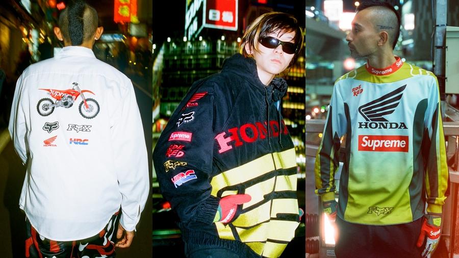 fashion Fox Racing HONDA Honda CRF 250R HRC Motorcross streetwear Supreme สตรีทแวร์ ฮอนด้า แฟชั่น