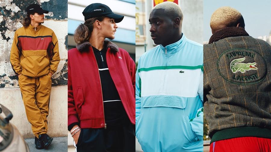 fashion Lacoste streetwear Supreme สตรีทแวร์ แฟชั่น