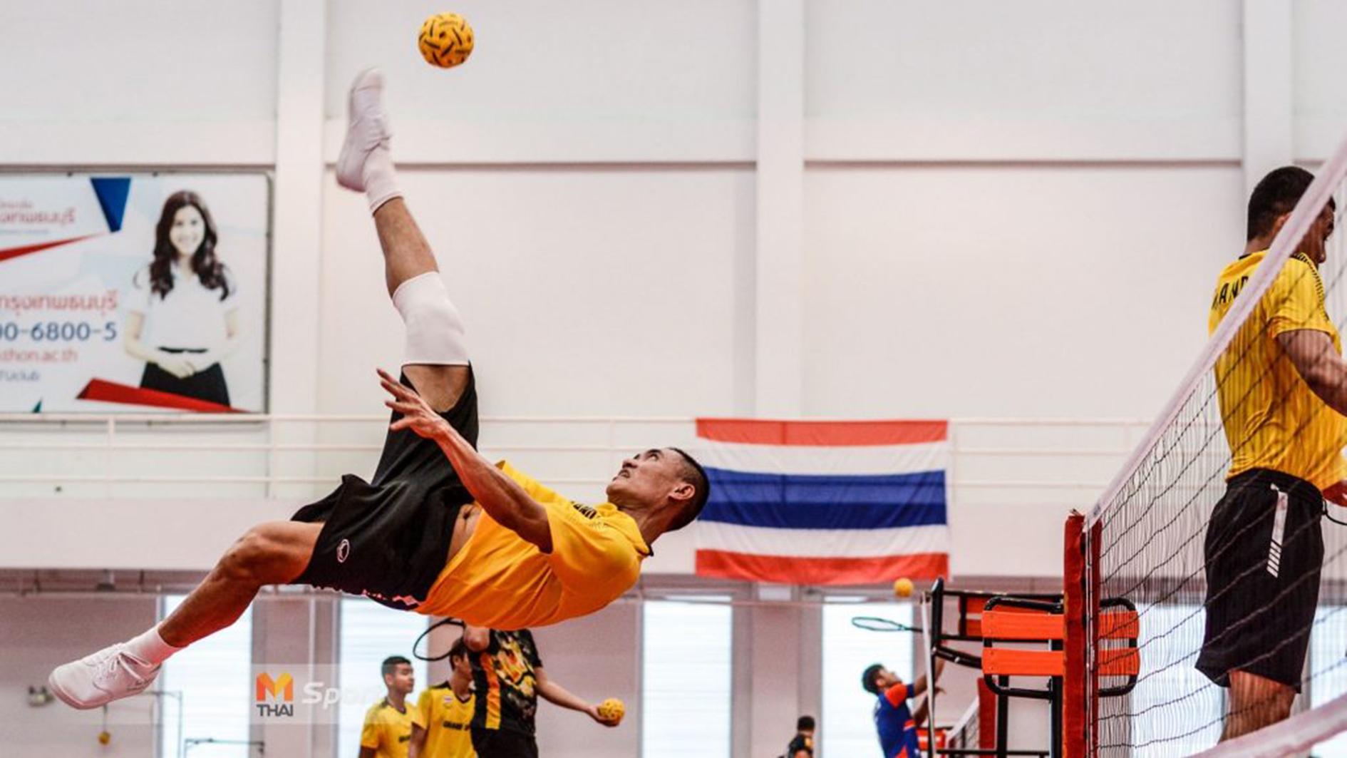 ซีเกมส์ ตะกร้อ ตะกร้อทีมชาติไทย