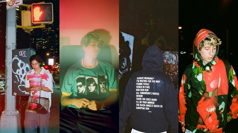 Andy Warhol fashion Lou Reed Nico Pop Art streetwear Supreme The Velvet Underground สตรีทแวร์ เครื่องแต่งกาย แฟชั่น