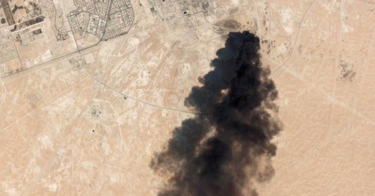 ข่าวสดวันนี้ ซาอุดีอาระเบีย ระเบิดโรงกลั่นน้ำมัน
