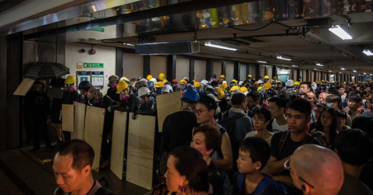 ข่าวสดวันนี้ ประท้วงฮ่องกง รถไฟฟ้าที่ดีที่สุดในโลก