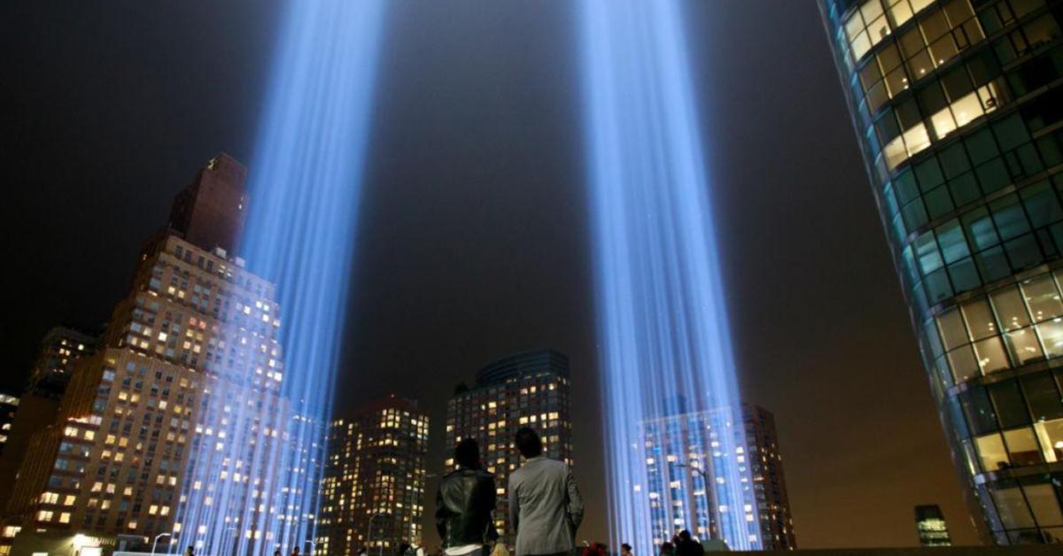 9/11 Tribute in Light ข่าวสดวันนี้ นก