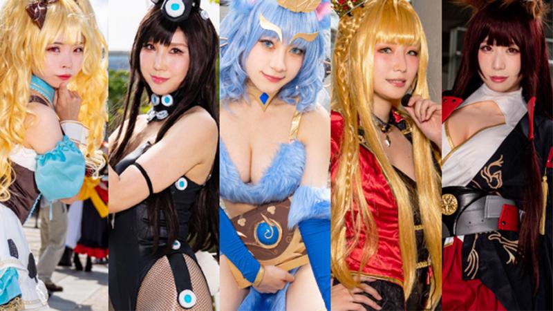 Final Fantasy Tokyo Game Show 2019 คอสเพลย์ วีดีโอเกม