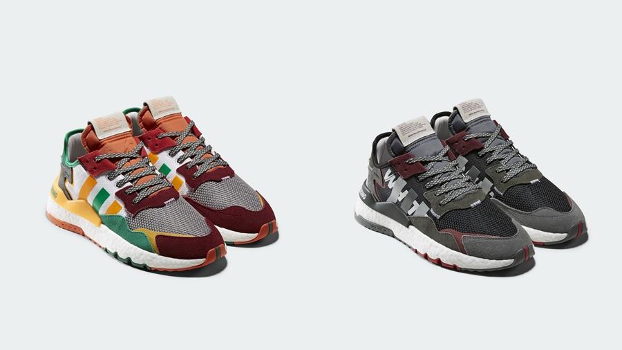 adidas adidas Originals fashion Nite Jogger Sneaker White Mountaineering Yosuke Aizawa รองเท้า สนีกเกอร์ ไวท์ เม้าท์เทนเนียริ่ง