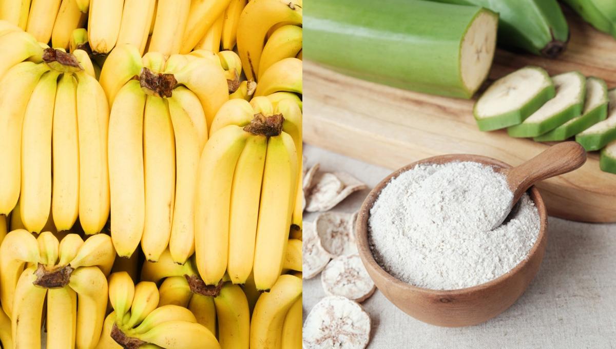 กล้วย กล้วยดิบ กล้วยสุก