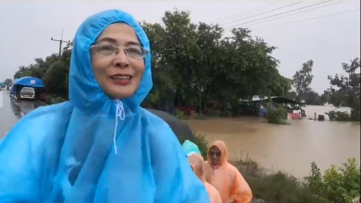 น้ำท่วม พายุโพดุล