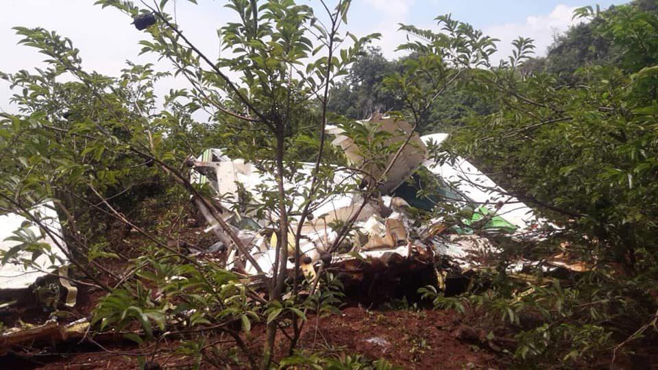 ข่าวจังหวัดกาญจนบุรี ข่าวสดวันนี้ เครื่องบินตก เครื่องบินทำฝนหลวง