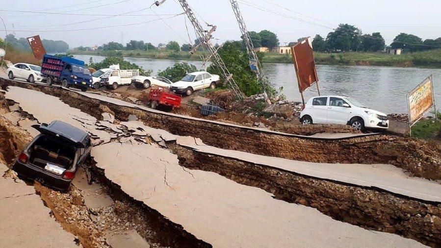 ข่าวปากีสถาน แผ่นดินไหวปากีสถาน
