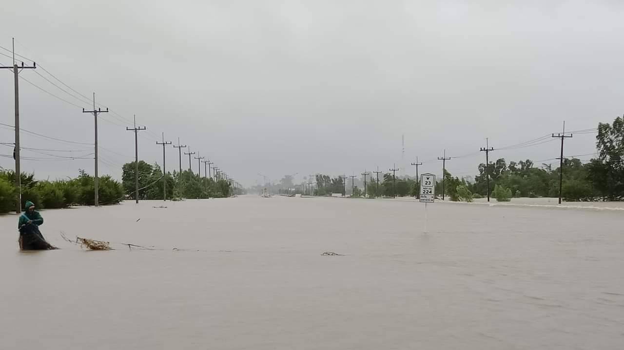 น้ำท่วม พายุฝน สถานการณ์น้ำ อุบลน้ำท่วม