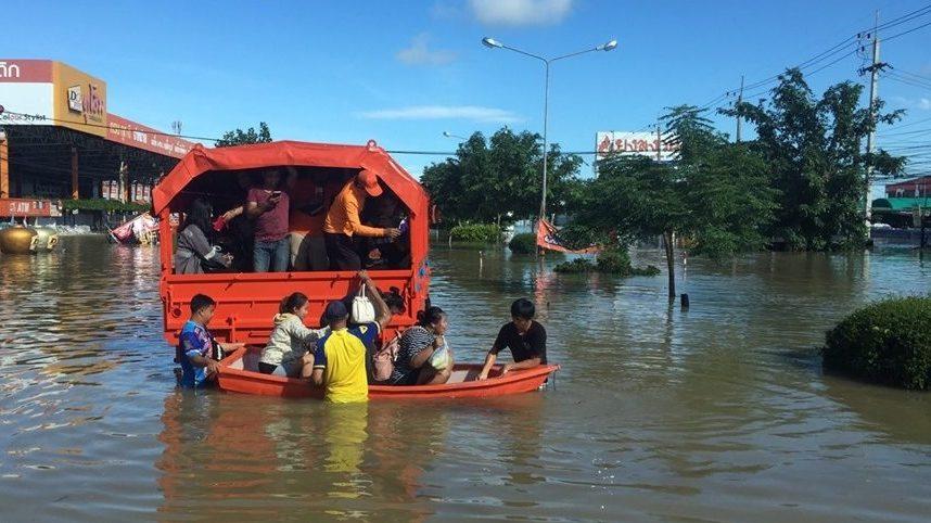 น้ำท่วม รัฐบาล