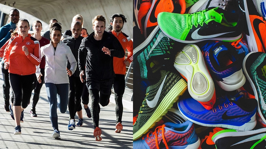 firm health running รองเท้า วิ่ง ออกกำลังกาย