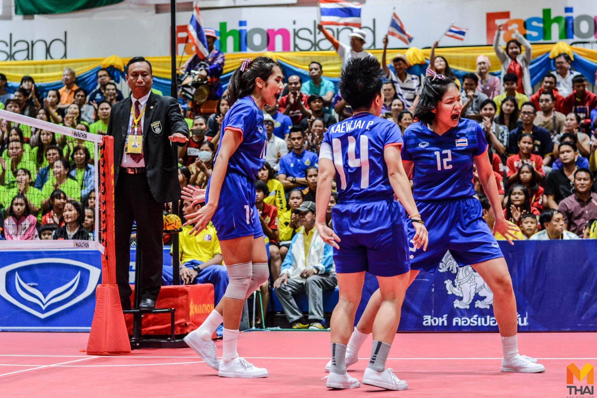 ซีเกมส์ 2019 ตะกร้อ ตะกร้อหญิงทีมชาติไทย